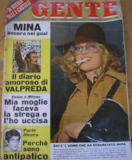 GENTE 4 1970 MINA RIVERA TOM JONES RAQUEL WELCH rivista magazine