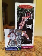Hallmark Keepsake Ornament & Trading Card-Basketball Hoop Stars-Shaquille O'Neal