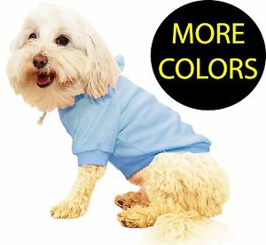 French Terry Sunggly Hooded Pet Dog Hoodie Sweater