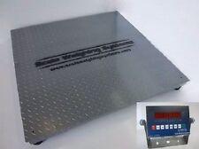 5' X 5' NTEP Industrial Floor Scale Legal Trade 10000 Lbs