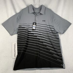 Under Armour the Playoff Loose Fit Green Golf Men's Polo XL NWT 1327037-039 $65
