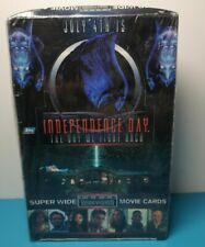 5 X Packets of Topps Independence Day Widevision Superwide Trading Cards -