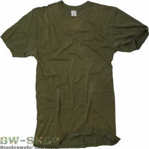 1-5er PACK ORIGINAL BUNDESWEHR T-SHIRTS OLIV BW UNTERHEMD ARMEE SHIRT ARMY JAGD