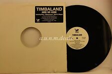 "Here We come /Ttim's Bc Mix - TIMBALAND - BLACKGROUND Records Promo LP 12"" (VG)"
