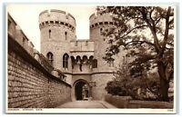 Vintage Picture Postcard Windsor Castle Norman Gate Berkshire