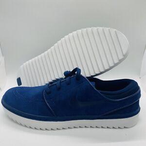 Nike SB Janoski G Spikeless Golf Shoes Blue/White Mens Size:11.5 AT4967-400