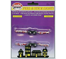 Model Power Peel'n Stick Lights 4pcs Mpc510