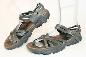 KEEN Womens Size 8.5 39 Leather Buckle Flat Sandals Shoes