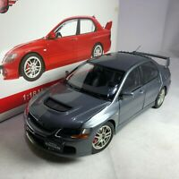 1/18 Super A Mitsubishi Lancer Evolution IX Gray Diecast AC11114