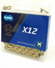 KMC X12-TI Nitride Gold Chain
