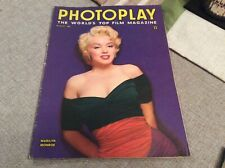 PHOTOPLAY MAGAZINE AUGUST 1956 MARILYN MONROE COVER