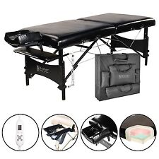 "Master 30"" Galaxy Therma-Top Portable Massage Table(Black)"