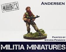 28mm Modern Wargames / Roleplaying - Militia Miniatures - Andersen