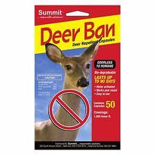 Summit Deer Ban Repellent Capsules 50 pack pk coyote urine 1000 ln ft