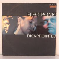 "Electronic ‎– Disappointed (Vinyl, 12"", Maxi 33 Tours)"