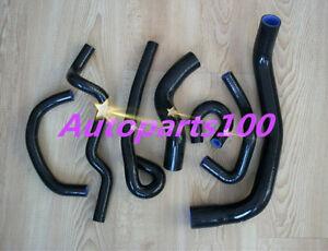 Black Silicone Coolant Hose kit for NISSAN SKYLINE GT-S R33 RB25DET