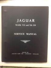 NOS Jaguar MK VII Y XK120 fábrica Manual de mantenimiento / NEVER Emitido!!!