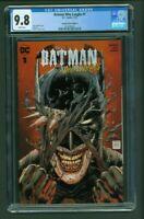 Batman Who Laughs 1 CGC 9.8 Torpedo Comics Edition A Variant Cover Tony S Daniel