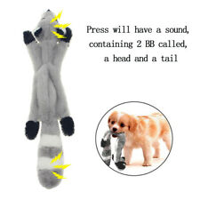 Pet Toy Unstuffed Plush Dog Puppy Squeaker Toys Squeaky Funny Sound Play Chew