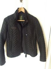 G-Star Ladies Raw Cargo line quilted jacket. Black size M REDUCED!