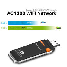 Wavlink AC1300 USB 3.0 Wifi Dongle Wireless Adapter Dual Band 5GHz Wifi Adapter