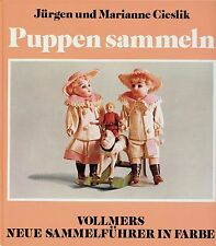Collecting Antique German Dolls - Makers Dates Marks / Scarce Book (German Text)