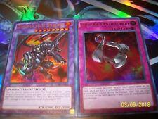 Destruction Dragon Ultra Rare + Loop of Destruction Ultra Rare LC06 Yu-Gi-Oh!