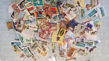 MATCHBOX LABELS - JOB LOT OF LABELS UK ENGLAND ENGLISH SERIES - 250 PLUS LABELS