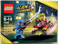 Lego Alien Conquest #7049 ALIEN STRIKER New NIB Factory Sealed 100%  42 pieces