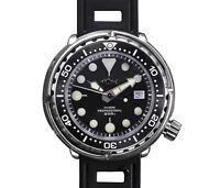 Japan Tuna Can pro Divers Automatic wrist watch Mens SBBN015 Sharkey Marine