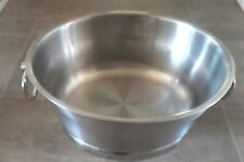 Party Ice Tub Bucket Cooler Drinks Beverage Insulated Stainless Steel 19 Inch