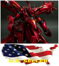 Metal Detail-Up Parts Set For MG RE 1/100 Nightingale Gundam RED ❶❶US seller❶❶