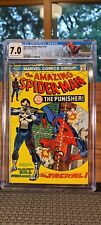 AMAZING SPIDER-MAN #129-CGC 7.0 Auction! Killer 1st Appearance of Punisher!
