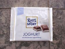 8 x Ritter Sport -Yoghurt- milkchocolate bars of 100 gr/ 3.5 oz net