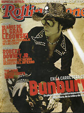 "ENRIQUE BUNBURY ""ROLLING STONE "" SPANISH MAGAZINE - OCTOBER 2008 / THE CURE"