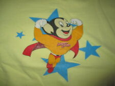 """Vintage 90s Mighty Mouse """"Here I Come to Save the Day"""" (Kid's Small) T-Shirt"""