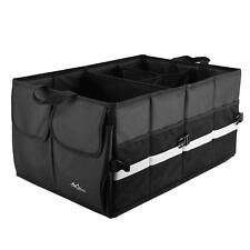 Multi Compartments Collapsible Cargo Storage Home Trunk Car SUV Trunk Organizer