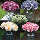 Multicolor Phantom Rose Peony TOP Silk Flowers Bouquet Single Decor Wedding