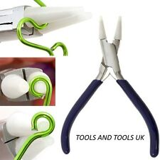 Round Nose Nylon Jaw Pliers Jewelry Making Wire Work Crafts Tool with EXTRA JAWS