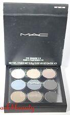 Mac Eye Shadow x 9 (Navy Times Nine) 0.8g/0.02oz Each Full Size Palette Nib