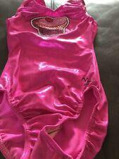 Girls Milano Leotard - New Size 30 Pink