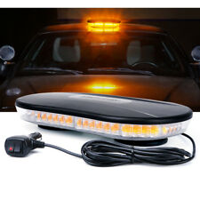 Xprite Rooftop 30W COB LED Strobe Light w/ Magnetic Car Emergency Warning Lamp