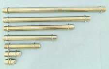 """UHF/UHF, or """"N"""" F/F, 16 Point Barrel / Bulk Head Connector, Gold Pin, With Nuts"""