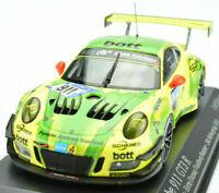 IXO 1/43 Scale Diecast Porsche 911 GT3 R No. 911 24h Nürburgring 2017