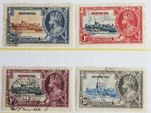Bermuda – 1935 – Silver Jubilee – Super Used – (R6-E)
