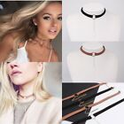 New Women Stylish Round Pendant Choker Collar Necklace Chain Charm Jewelry Gift