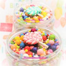 Birthday Cake Slime, floam beads, scented slime, birthday gift, birthday party