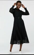 Monsoon yvie lace shirt dress size 16