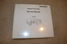 McNeilus 1234183 Street Force Refuse Garbage Trash Truck Service Manual