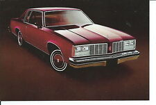 N-147 - 1979 Oldsmobile Delta 88 Automobile Car Stackhouse Promotional Card